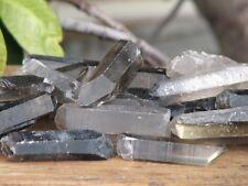 Raw Smokey Quartz Crystal Points & Pieces x 5 Pieces - Omni New Age
