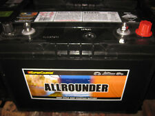 ALLROUNDER DEEP CYCLE & STARTING BATTERY 105 amp hour MRV70L  SUPER CHARGE
