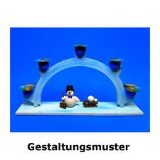 "Egermann 15937 Set de Manualidades"" Arcos "" Natural,Sin Pieza Erzgebirge Nuevo"