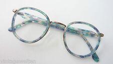 Robert la Roche Metall-Kunststoff-Brille multicolor Fassung Panto frame size S
