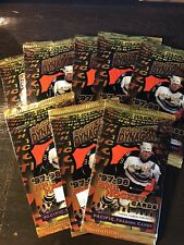 8 packs of Pacific Trading cards 1997-1998 NHL Hockey Cards Premiere issue