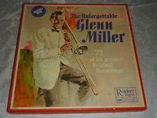 THE UNFORGETTABLE GLENN MILLER - 6 LP READER'S DIGEST BOX SET