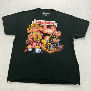WWE Garbage Pail Kids T-Shirt Size XL Black Legends Graphic Ripple Junction Mens