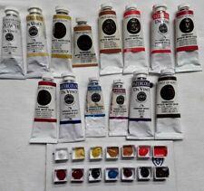 """Da Vinci Watercolors """"Sample Palette Only"""" 14 colors Half Pans"""