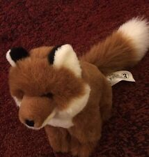 """IKEA Luggig Brown Fox Plush 9"""""""