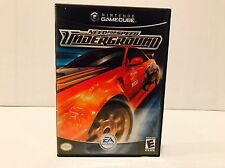 Need For Speed Underground Nintendo Gamecube Game Complete