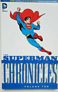 THE SUPERMAN CHRONICLES VOLUME 10~ DC COMICS TPB NEW