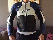 Alpinestars SMK Leather Motorcycle Jacket Size US 42