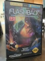 Flashback: The Quest for Identity (Sega Genesis, 1993) - No Manual