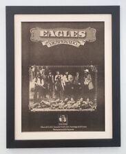 More details for the eagles*desperado*1973*rare*original*poster*ad*quality*framed*fast world ship