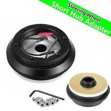 Steering Wheel Short Hub Adapter Black For Acura Honda Civic Accord 127251B