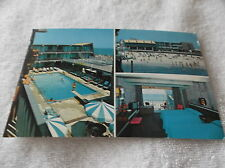 SEASIDE HEIGHTS,NEW JERSEY-THE AZTEC MOTEL-sherman ave-multiview photo postcard