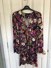 Oasis Patterned Dress/Tunic, size 8, VGC