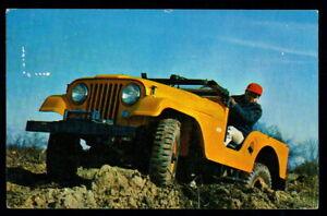 1956 Postcard • Universal Jeep: Model CJ-5 - The World's Most Useful Vehicle