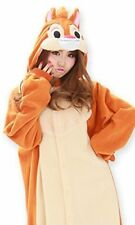 Sazac Disney Chip & Dale Fleece Costume Kigurumi Pajamas Japan Cosplay F/S NEW