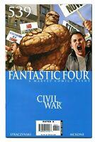 "FANTASTIC FOUR ""CIVIL WAR"" SERIES 4-BOOK NEW OLD STOCK LOT (MARVEL 2006) NM 9.4+"