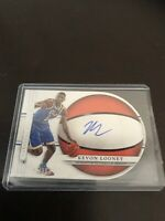 Panini National Treasures Kevon Looney RC Auto UCLA Warriors /99