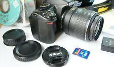 KIT! Nikon D3100 14.2 MP digital DSLR Camera EX! Of Shutter Releases: 7999