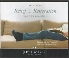 RECEIVING RELIEF & RESTORATION IN GOD'S PRESENCE      4 CDS     Joyce Meyer