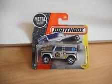 Matchbox Land Rover Ninety in Grey on Blister