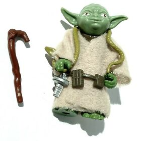 Yoda C9+ Green Snake Vintage Star Wars Figures Smooth Cape Dark Cane HK AFA UKG