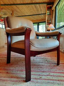Armchair Club Chair Jacaranda Vintage 60er Retro Easy Chair Danish Westnofa Era