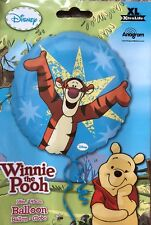 """18"""" Amscan Official Disney Winnie The Pooh Foil Helium Balloon With Tiger"""