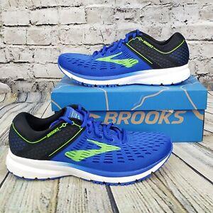 Brooks Ravenna 9 Men's Road Running Training Shoes Blue Black White Size 9.5 D