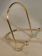 (1) MED Brass Easel Display Stand  Great for Fossils & More !!