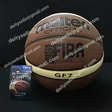 Molten classic Gf7 Pu men basketbal indoor within net needle bag classic ball