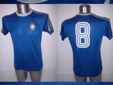 Brazil Shirt Zico Jersey Medium Vintage Erima 80s Umbro Football Soccer Brasil