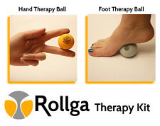 Hand & Foot Therapy Kit - Rollga Massage Ball & Stress Ball