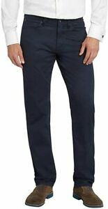 NEW!!! Kirkland Signature Men's 5 Pocket Twill Pant (Dress Blues, 40X30)