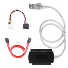 For SATA/PATA/IDE Drive 2.5/3.5 Hard Drive to USB 2.0 Adapter Converter Cable
