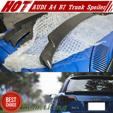 Carbon Fiber AUDI A4 B7 RS4 S4 Avant Wagon 5DR Rear Middle Trunk Spoiler 04-08