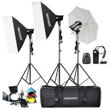 Neewer 540W(180W x 3) Pro Photography Studio Flash Strobe Light Lighting Kit