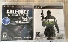 Call of Duty Two Game Lot: Ghosts & Modern Warfare 3 (PlayStation 3) PS3