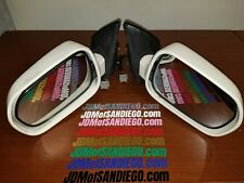 2002 2006 Acura RSX Power Side Mirrors JDM DC5 Honda Integra Type R ITR WHITE #2