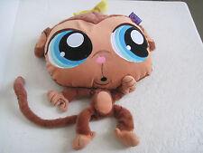 "Littlest Pet Shop LOVELY BIG EYES BIG HEAD MONKEY 13"" Plush Stuffed Animal"