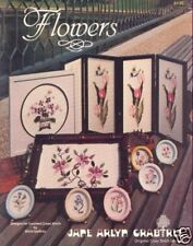FLOWERS Cross Stitch  15 Floral Designs