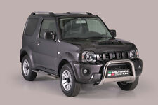 "Suzuki Jimny 2013-up  Ø63mm BULL BAR NUDGE BAR  ""CE APPROVED""  Frontbügel"