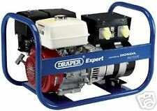 DRAPER EXPERT 7.5kVA/6.0kW HONDA PETROL GENERATOR new