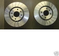 PEUGEOT 207 CC HDI VTI TURBO BRAKE DISC PERFORMANCE GROOVED BRAKE DISC