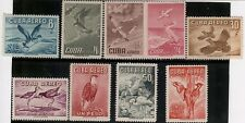 Caribean,Scott#C136//C146,MH+MNH,Scott=$80