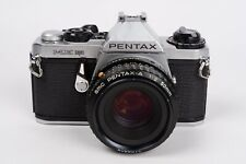 Pentax ME Super  +  SMC Pentax-A 50mm 1:2 NEW SEALS and Revised