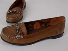 Etienne Aigner Women's Lynda slip-on bit-loafer Flat, 9.5M, brown, leather, NWOB