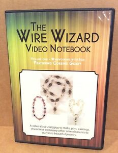 DVD Wire Wizard Video Notebook, Gurry, Vol 1, Wireworking with Jigs, 2002