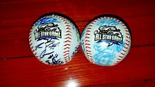 Omaha Storm Chasers: 2015 Triple-A All Star Autographed Baseballs - Both Leagues