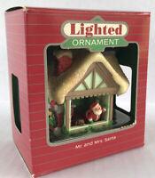Vintage Hallmark Keepsake Ornament Mr And Mrs Santa 1985 Holiday Magic