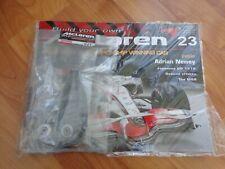 ISSUE 23 DEAGOSTINI 1/8 BUILD YOUR OWN MCLAREN MP4/23 LEWIS HAMILTON 2008 F1 CAR